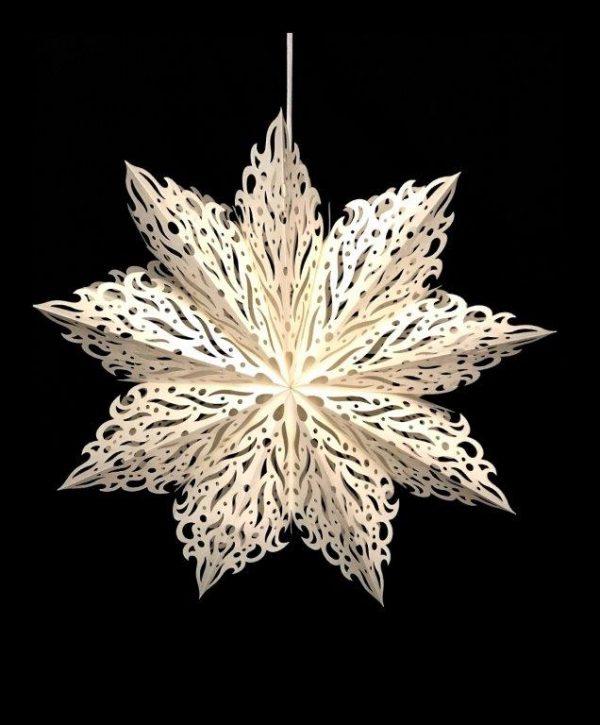 White Fire Snowflake