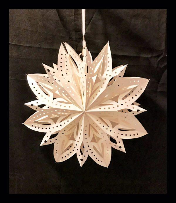 White Flower Snowflake